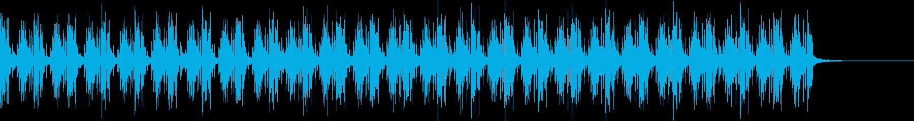 Pf「道化」和風現代ジャズの再生済みの波形