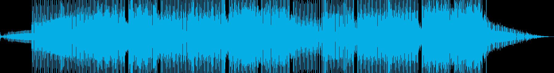 科学・浮遊感漂うテクノ 裏拍リズム A+の再生済みの波形
