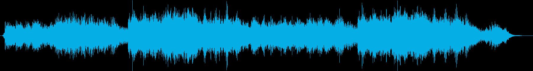 柔らかく美しいアンビエントの再生済みの波形