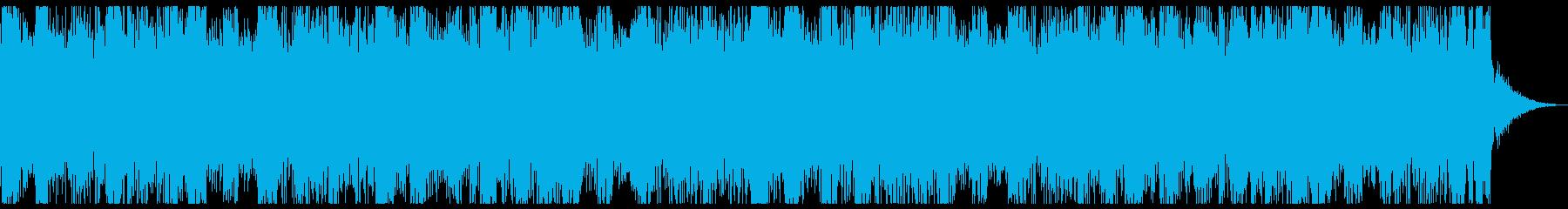 爽やかで透明感のあるジングルの再生済みの波形