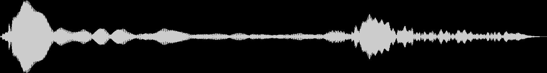 シンセベースドローン:低周波宇宙ド...の未再生の波形