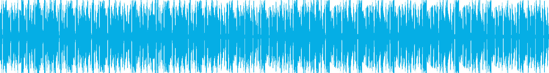 Bossa Nova style / healing guitar background's reproduced waveform