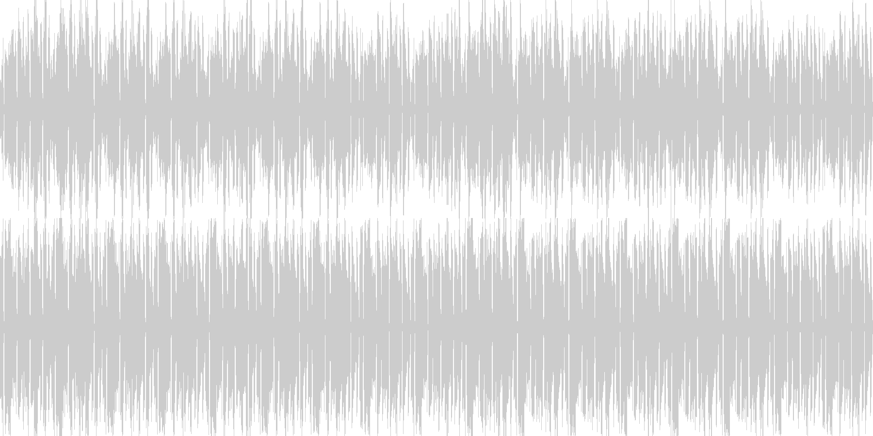 ボサノバ調・癒しギターバックグラウンドにの未再生の波形