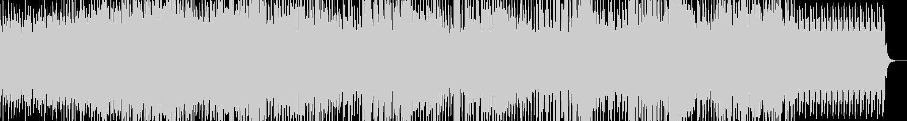 タイムカプセルについて歌ったテクノポップの未再生の波形