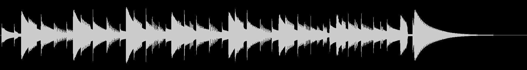 カリンバ:ショートチューン、音楽テ...の未再生の波形