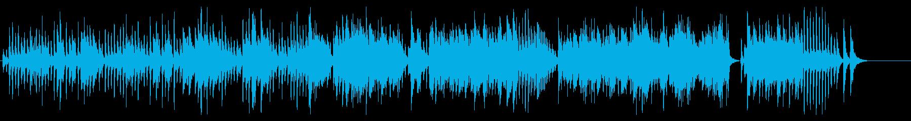 トマ作曲のガヴォットをヴァイオリンでの再生済みの波形