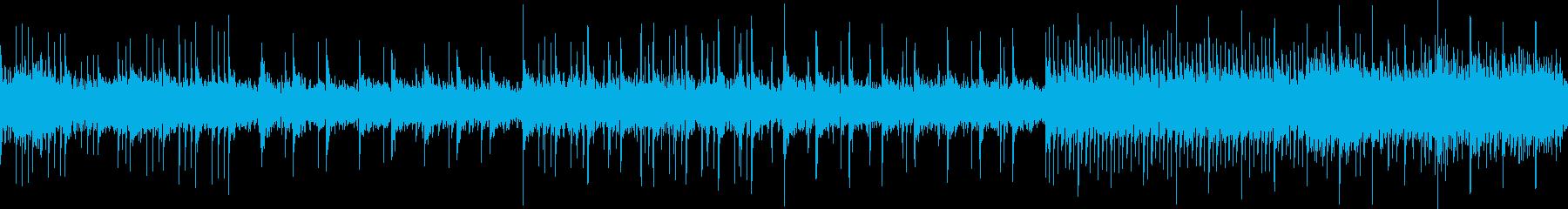 沖縄風三味線のリラクゼーション曲の再生済みの波形