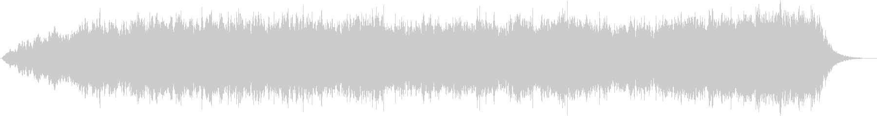 フルートのパッドにキラキラシンセのコラボの未再生の波形