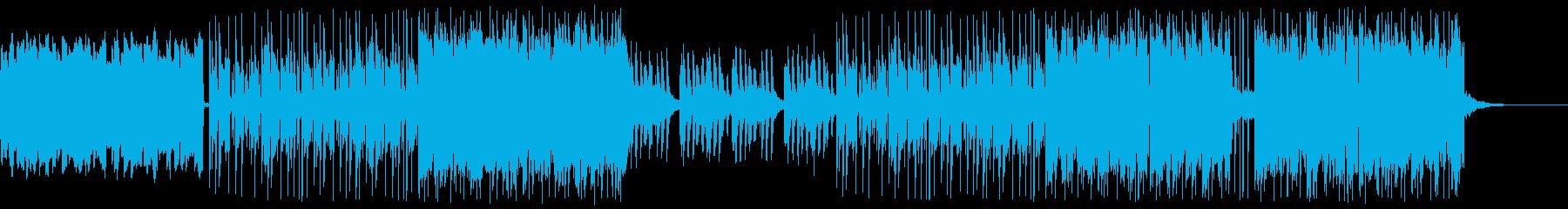 ダークでセクシーなインディーギターポップの再生済みの波形
