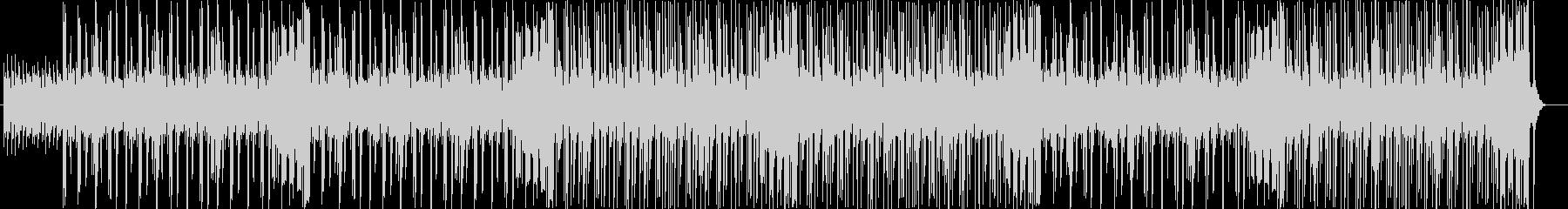 チャーミングな旋律のエレポップの未再生の波形