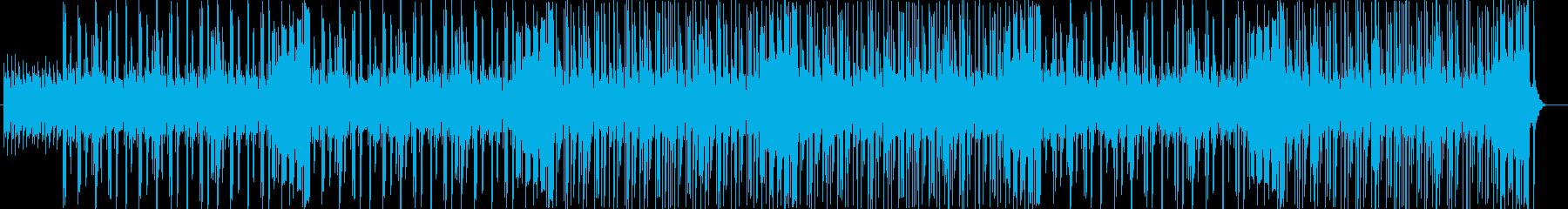 チャーミングな旋律のエレポップの再生済みの波形