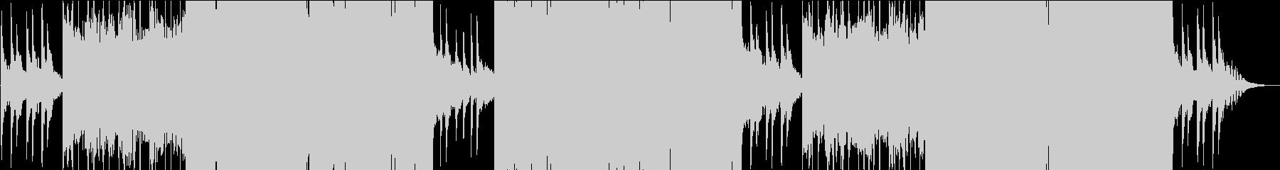 映像用切なく静かなFutureBassの未再生の波形
