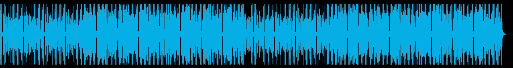少し不気味なハウスの再生済みの波形