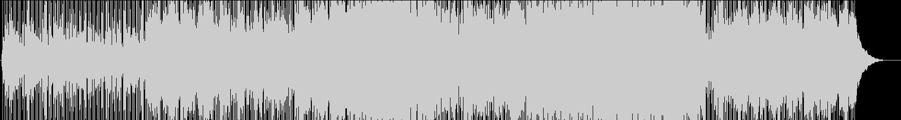 インディーカレッジのラジオの雰囲気...の未再生の波形