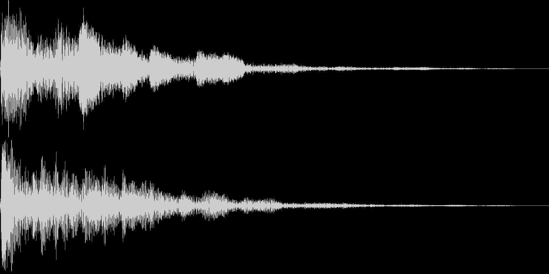 ポロローン(決定、イベント、クエスト)の未再生の波形