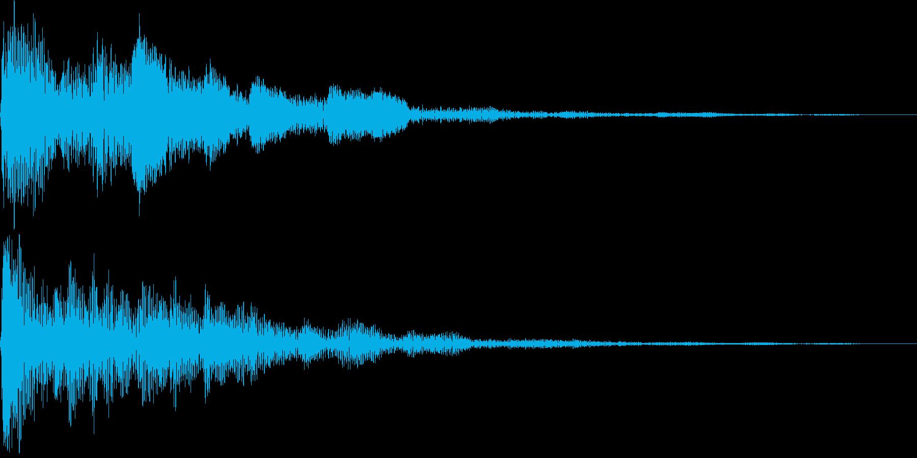 ポロローン(決定、イベント、クエスト)の再生済みの波形