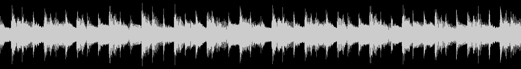 三拍子の穏やかなアコギの伴奏とオルゴールの未再生の波形