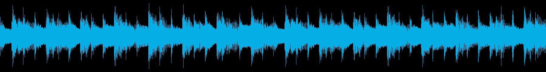 三拍子の穏やかなアコギの伴奏とオルゴールの再生済みの波形