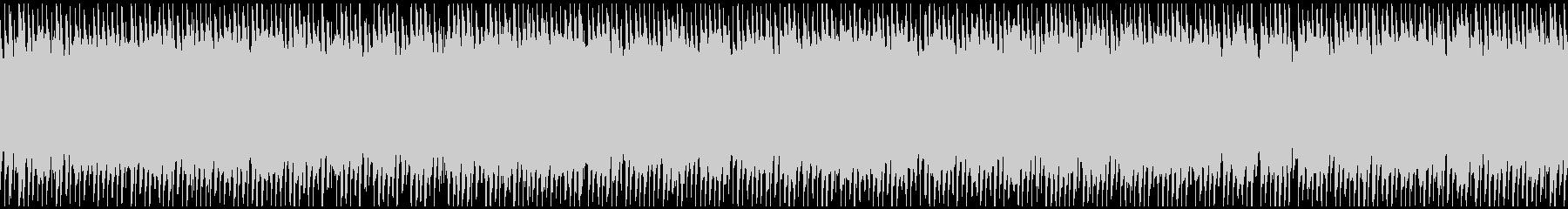 単調/ループ/静かなピアノアルペジオの未再生の波形