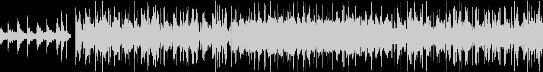 チルアウト ローファイヒップホップの未再生の波形