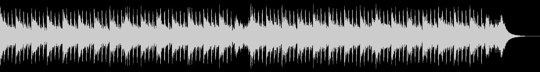 インタビュー音楽(中)の未再生の波形