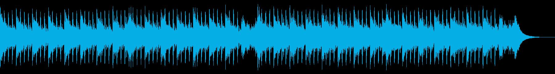インタビュー音楽(中)の再生済みの波形