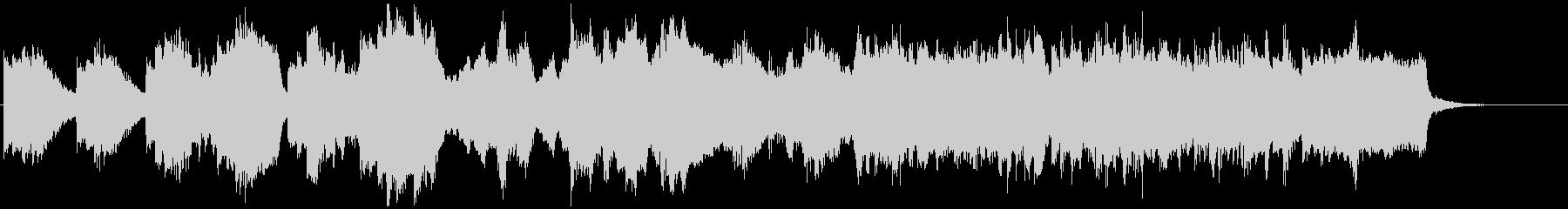チェロとピアノによる日本の古い童謡風の未再生の波形