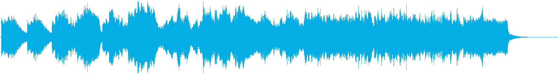 チェロとピアノによる日本の古い童謡風の再生済みの波形