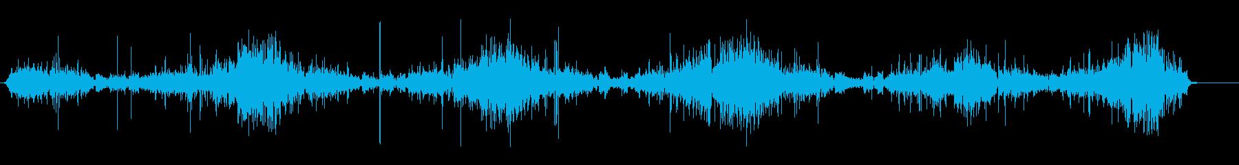 短波スキャン、ヨーロッパ、ラジオ;...の再生済みの波形
