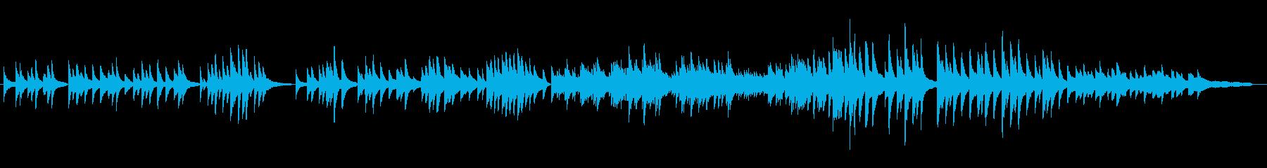 癒し祈りピアノ版レクイエムPieJesuの再生済みの波形