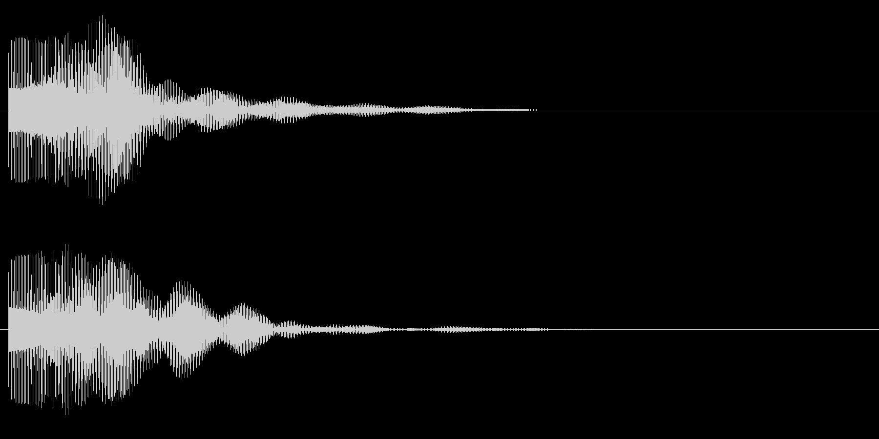 ビョン(サイバー、レーザー)の未再生の波形