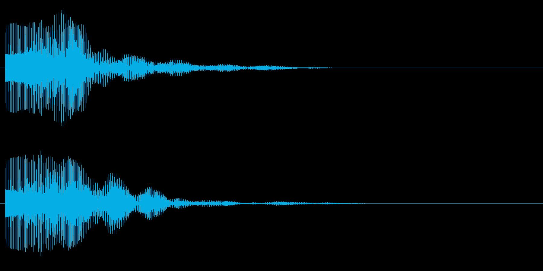 ビョン(サイバー、レーザー)の再生済みの波形