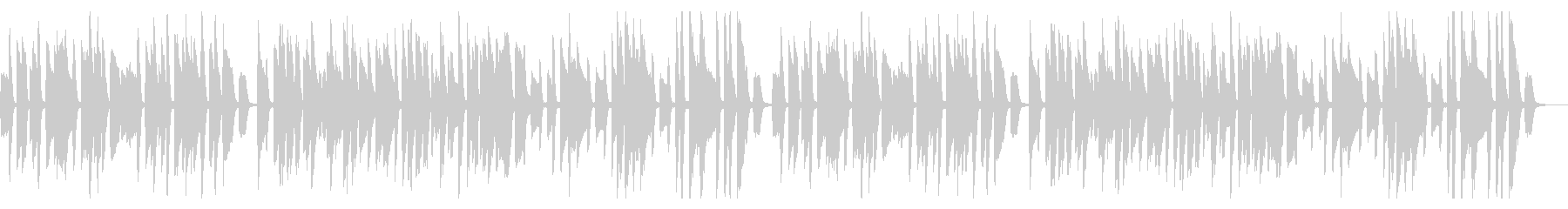 YouTube・コミカル・トーク・ピアノの未再生の波形