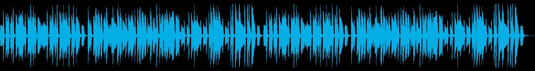 YouTube・コミカル・トーク・ピアノの再生済みの波形