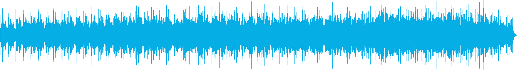 ニューエイジ系 水中遊覧サウンドの再生済みの波形