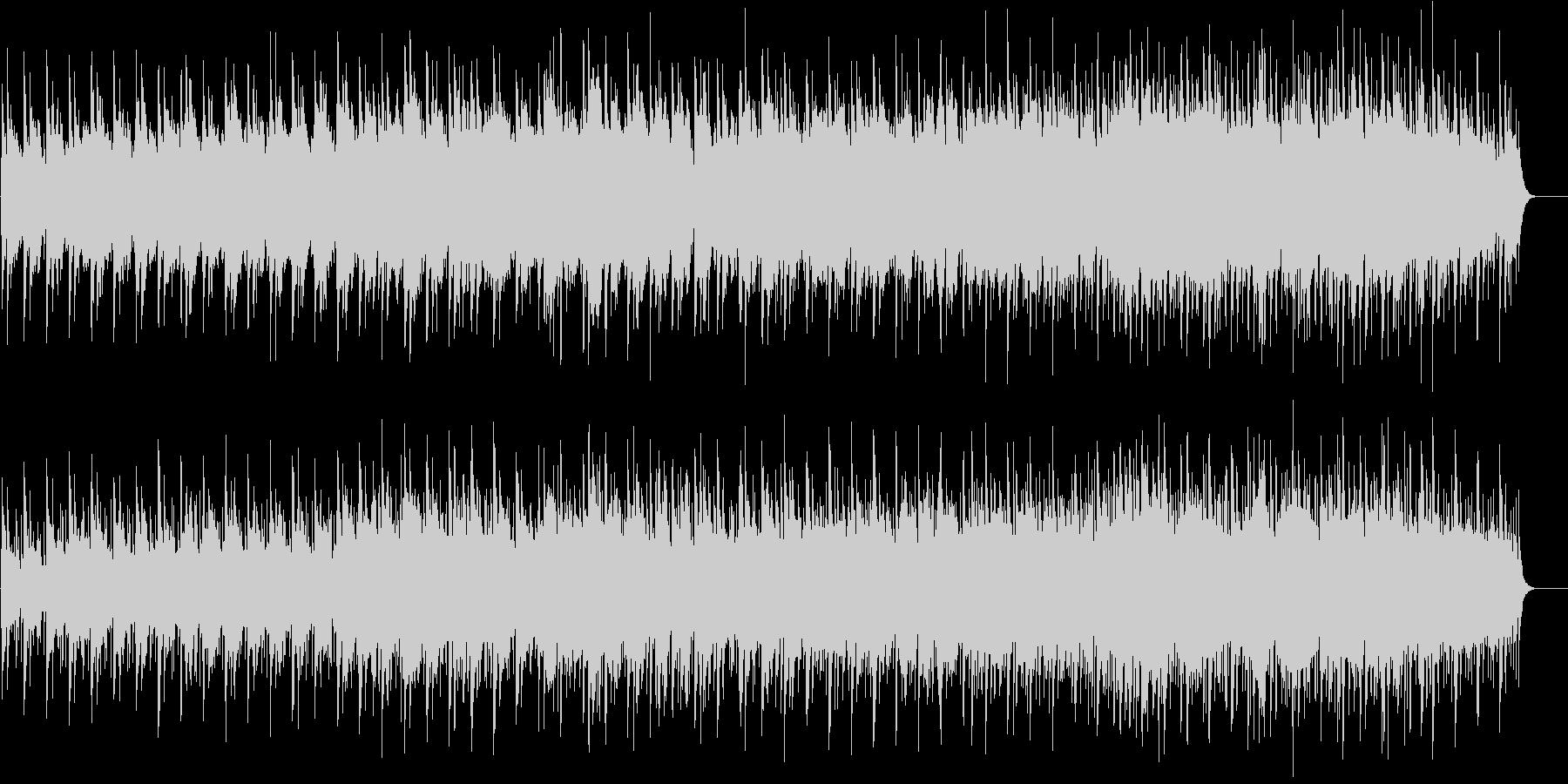 ニューエイジ系 水中遊覧サウンドの未再生の波形