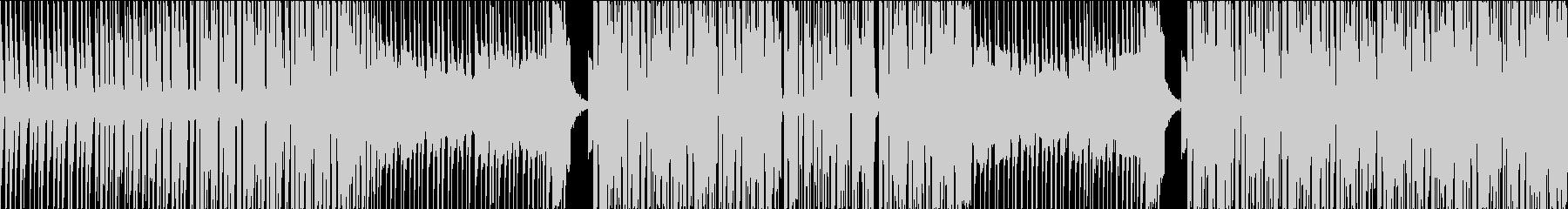 映像作品向きなシンセポップ(ループ用)の未再生の波形