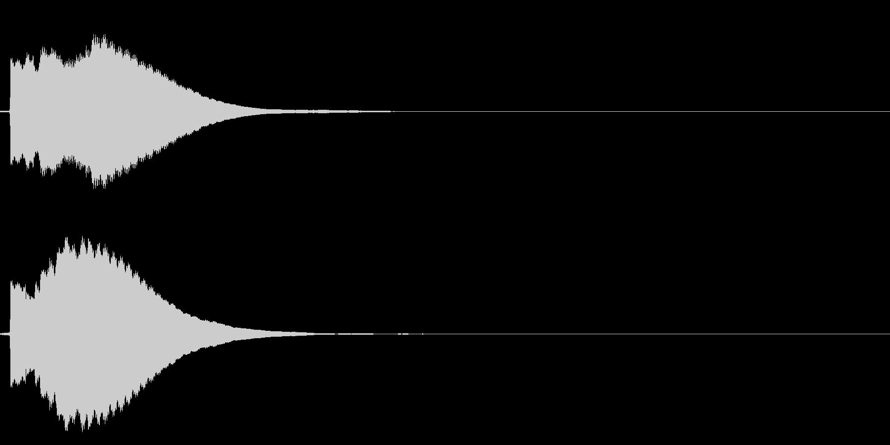 ピ!8bit系の決定/ボタン/クリック5の未再生の波形