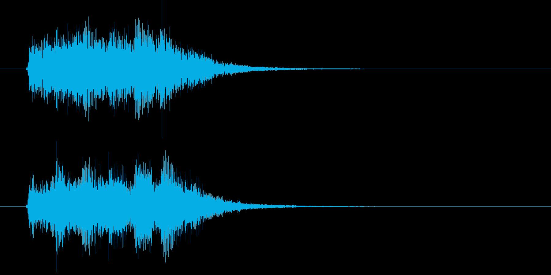 サウンドロゴ◆綺麗目Futurebassの再生済みの波形