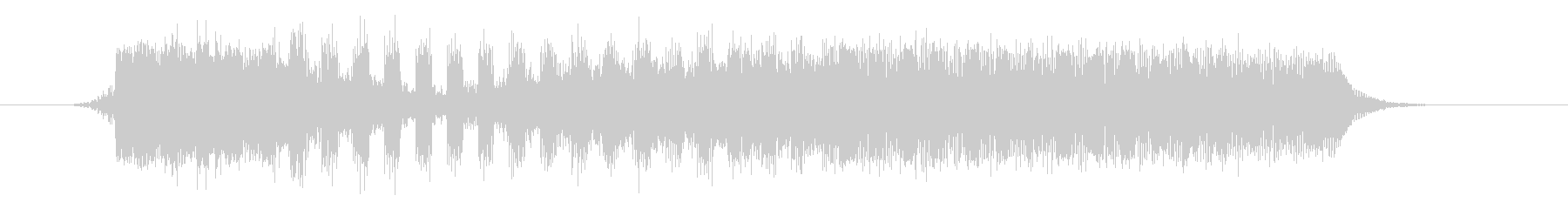 AMGアナログFX 46の未再生の波形