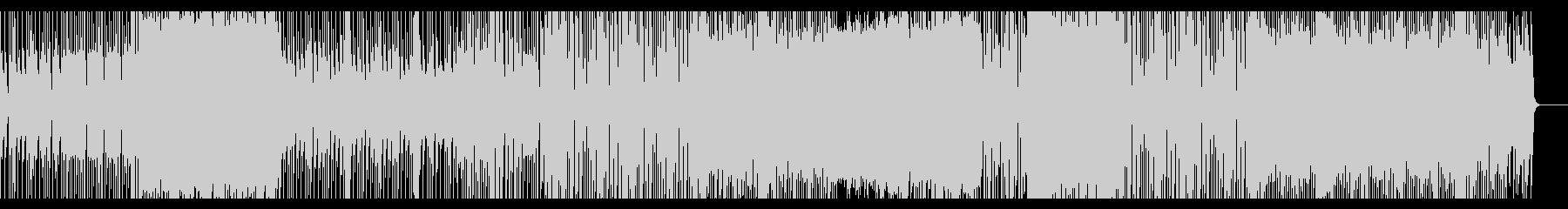 緊迫感 スリリング エレクトロの未再生の波形