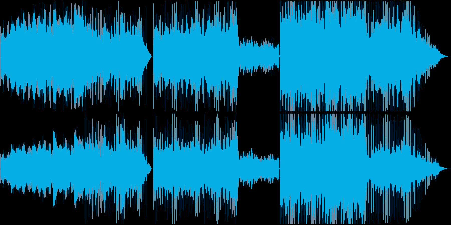チル:夏の時間経過をゆったり感じられる曲の再生済みの波形
