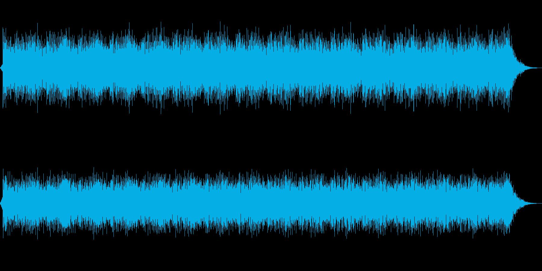 冬をイメージしたTK風J-POPBGMの再生済みの波形
