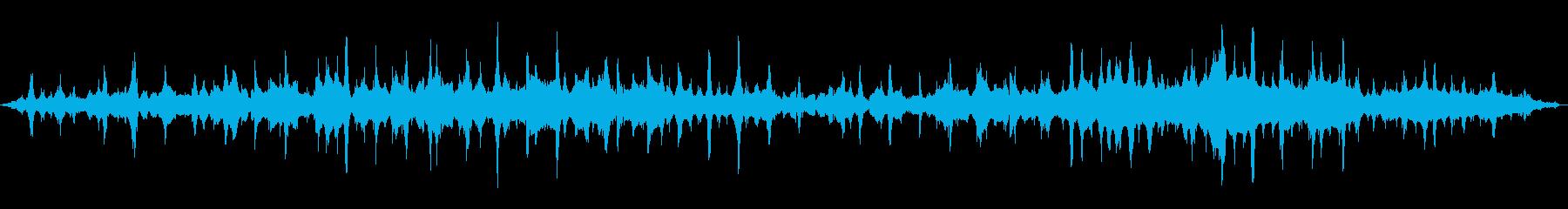 プップップッ(生物の鼓動、水中、神秘的)の再生済みの波形