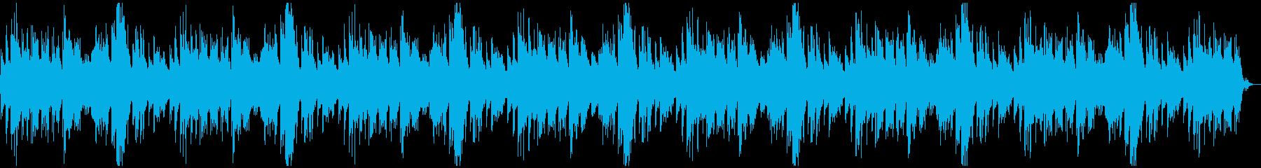 センチメンタルなピアノが力強いBGMの再生済みの波形