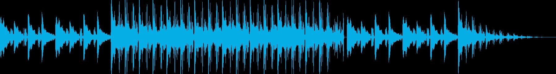 アコギ lo-fi hip-hopの再生済みの波形