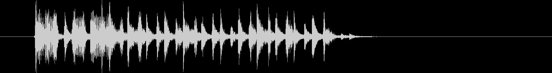 リズミカルなR&Bポップスの未再生の波形