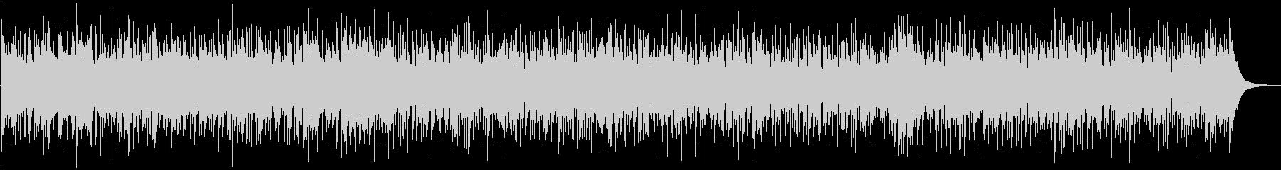 アコギで軽快なリズムのBGMの未再生の波形