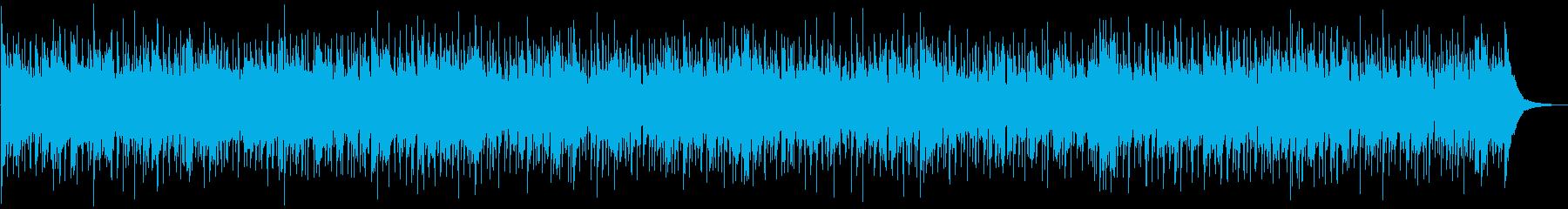 アコギで軽快なリズムのBGMの再生済みの波形