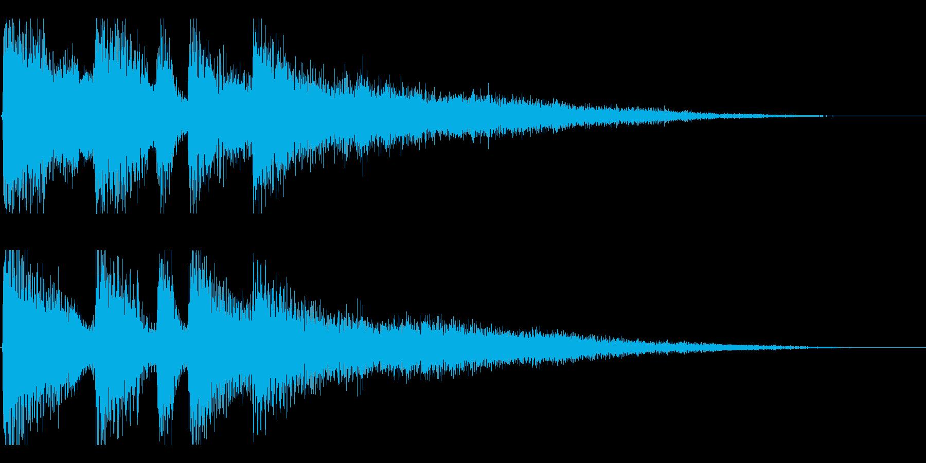 【日曜のラジオ2】の再生済みの波形